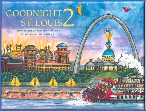 Goodnight 2 St. Louis hardback book