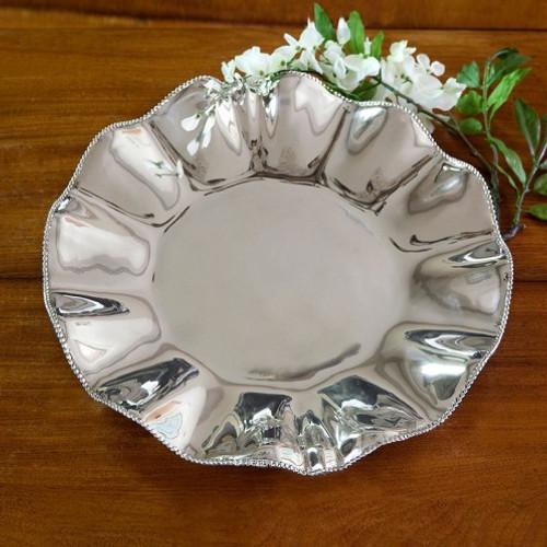 Beatriz Ball PEARL Denisse Round Platter engraved