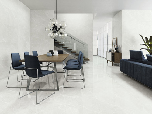 High-end porcelain wall and floor tiles with rectified edges giving you a closer and more seamless look.