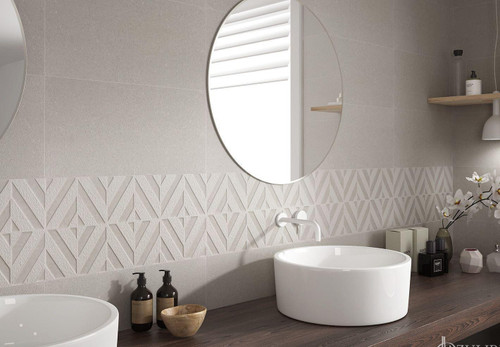 Wall ceramic tile, concrete effect, add a touch of chic and only pay the low internet price.