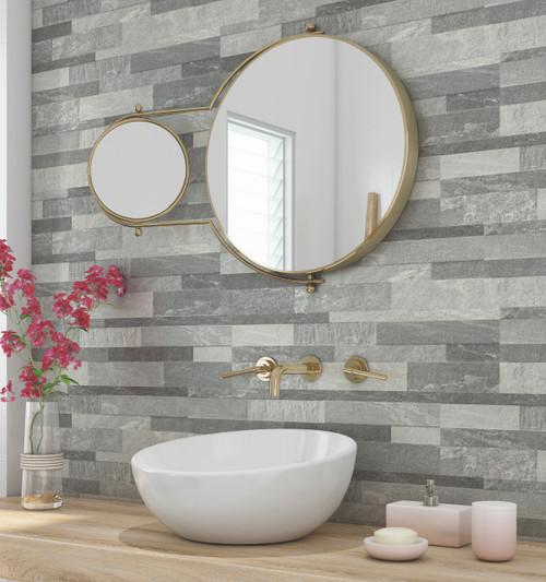Cosmos porcelain matt finish wall and floor tile.