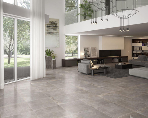Iron porcelain wall and floor tiles, semi-polished natural look for your home.
