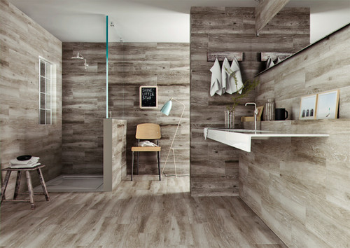 Premium ceramic wood effect floor tiles that will bring alive any part of your home.