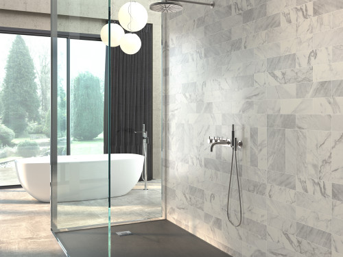 Marble Effect Brick tiles, metro tiles, wall tiles, bathroom, kitchen, living areas, wall tiles.