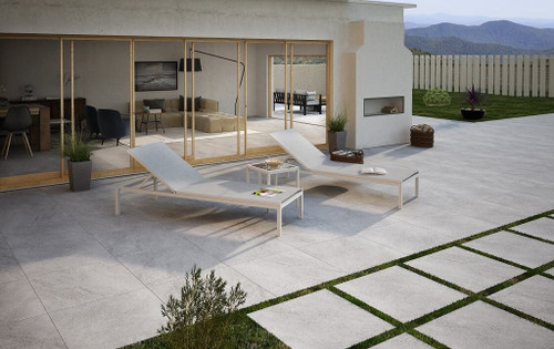 outdoor weather resistant non slip porcelain floor tiles 20mm thick