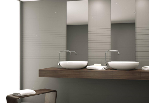 Nova hotel quality bathroom wall premium ceramic tiles GREY
