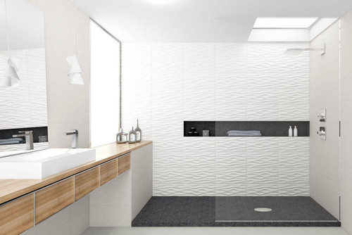 Nova blanco premium ceramic hotel quality wall tiles.