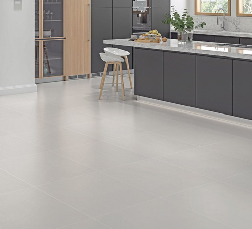 Grey matt porcelain wall and floor tile for the bathroom. This porcelain tile can be used as a bathroom floor tile, kitchen floor tile. You may also opt to use this as a wall tile.