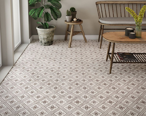 Patterned tiles, porcelain floor tiles. Bathroom tiles, kitchen tiles, floor tiles, wall tiles