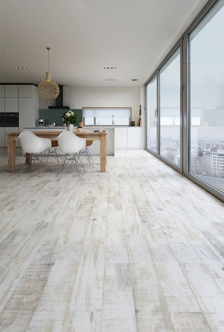 Buy these authentic looking wood effect porcelain floor tiles. Can be used as kitchen floor tiles, bathroom floor tiles, living room floor tiles. These are premium grade wood floor tiles at lowest prices.