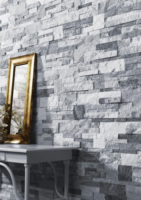 Buy quartzite natural stone split face tiles, amazing feature wall tiles