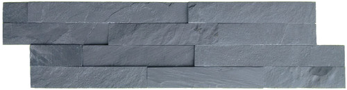 Black Slate Split Face Mosaic Wall Tiles in natural slate. A split face tile perfect for a feature wall in your home.