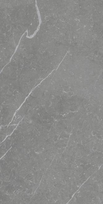 Grey porcelain polished marble effect large floor and wall tiles