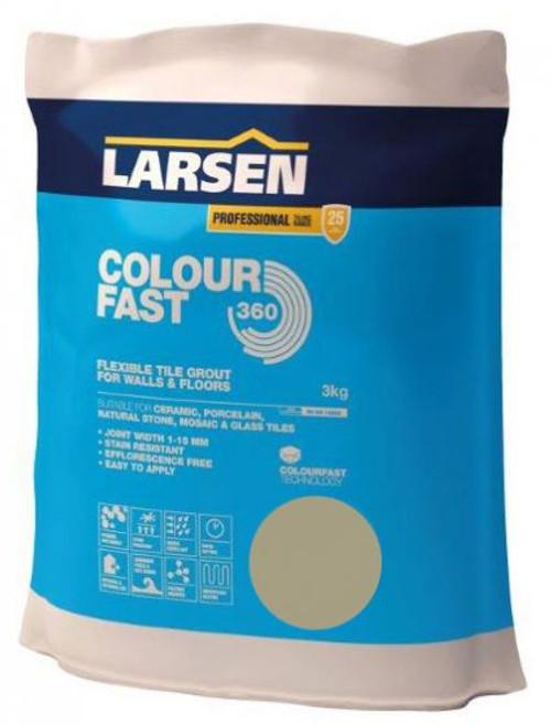 Colour Fast 360 Flexible Wall & Floor Grout Limestone 3kg