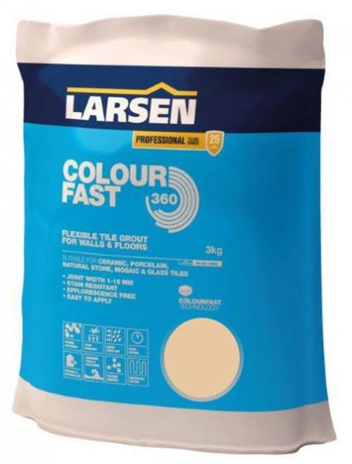 Colour Fast 360 Flexible Wall & Floor Grout Beige 3kg