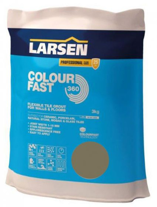 Colour Fast 360 Flexible Wall & Floor Grout Taupe 3kg