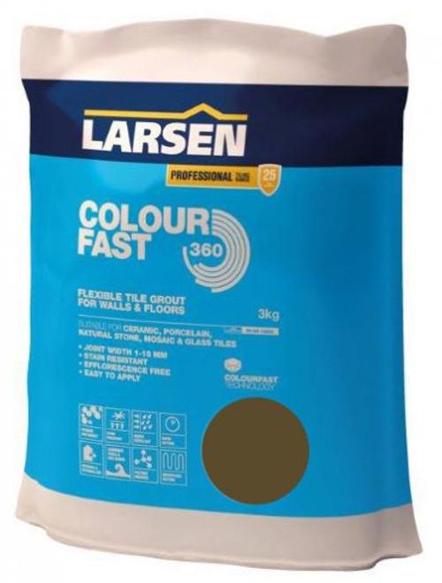 Colour Fast 360 Flexible Wall & Floor Grout Walnut 3kg