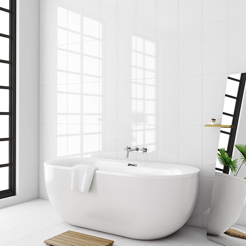 Buy white gloss premium ceramic wall tiles for your home.