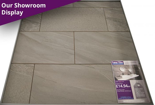 Icon grey mixed stone effect 300 x 600mm