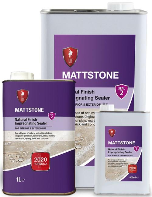 LTP Mattstone impregnating colour enhancement sealer, 0.5litre, 1litre, 5litre