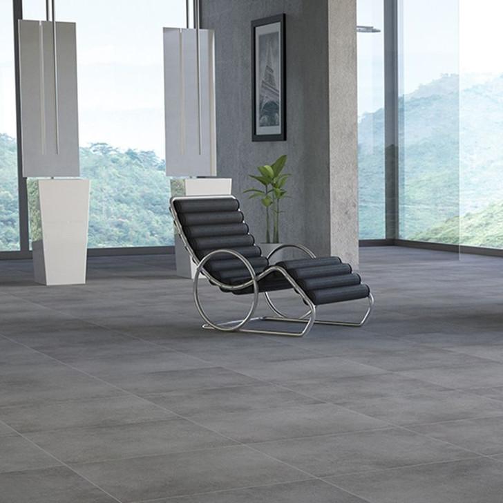 Buy grey porcelain floor tiles for your kitchen or bathroom.