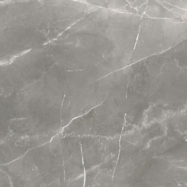 Majestic Luxury Dark Grey Matt Marble Effect Porcelain Floor Tile