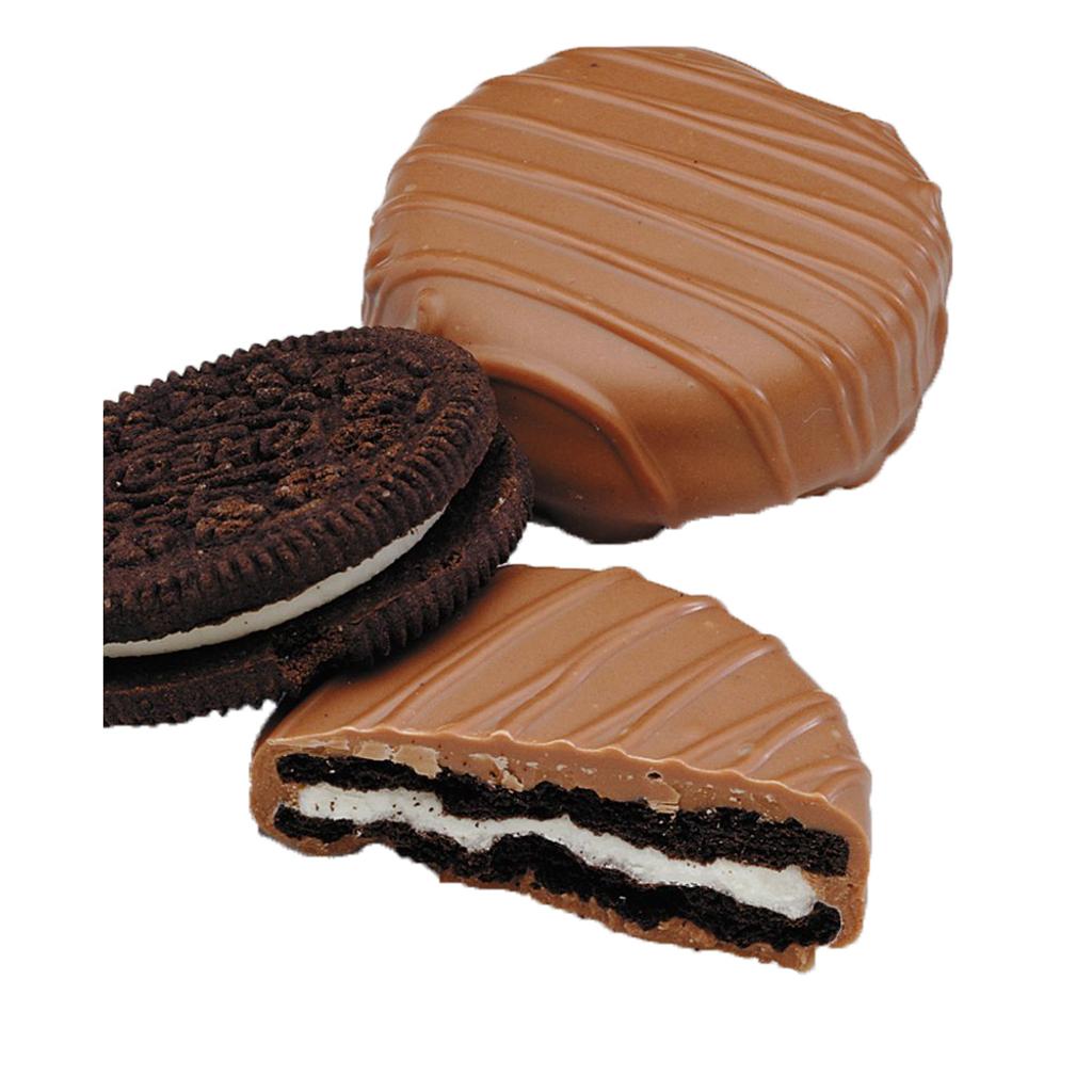 Plain Crème Filled Sandwich Cookies, Milk Chocolate