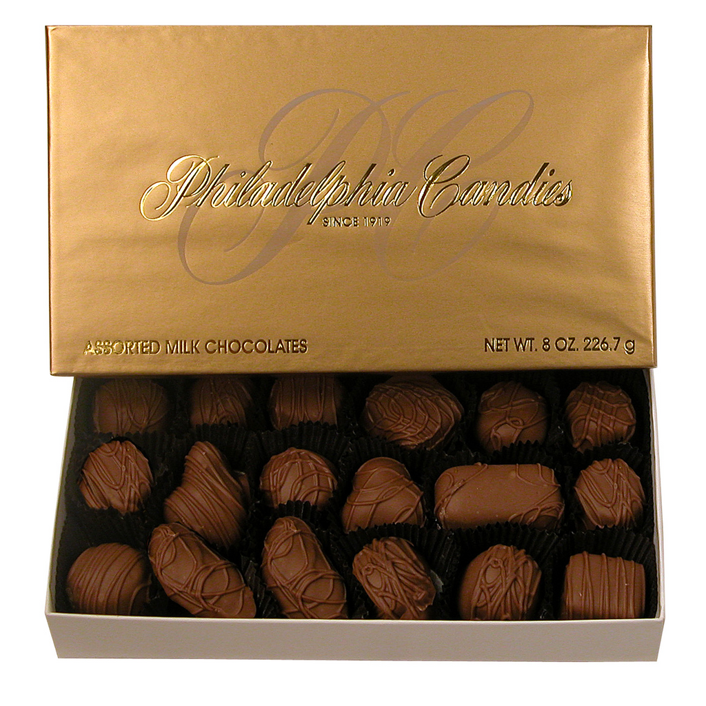 Assorted Milk Chocolates, 8 Ounce