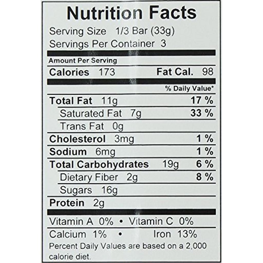 51% Cocoa Semisweet Dark Chocolate Bar, 3.5 Ounce