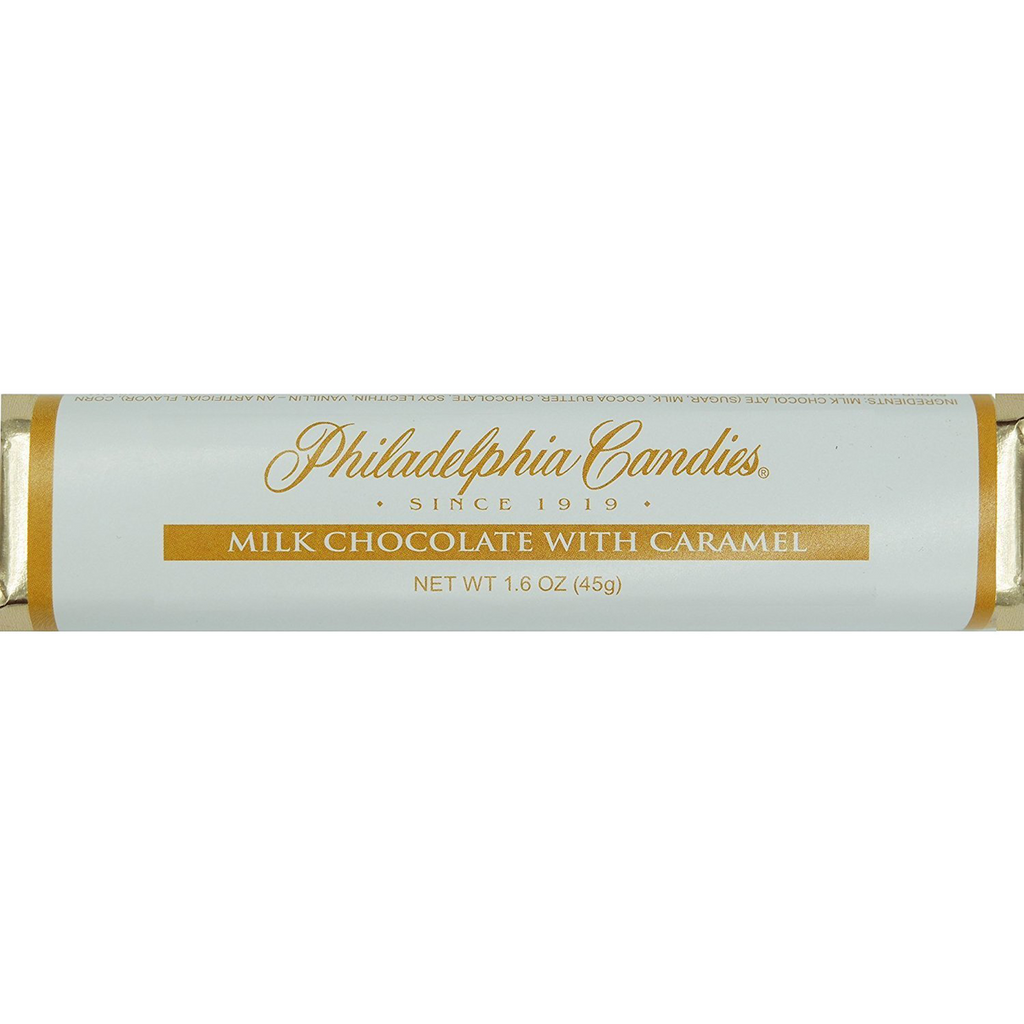 30.5% Cocoa Milk Chocolate with Caramel Bar, 1.5 Ounce