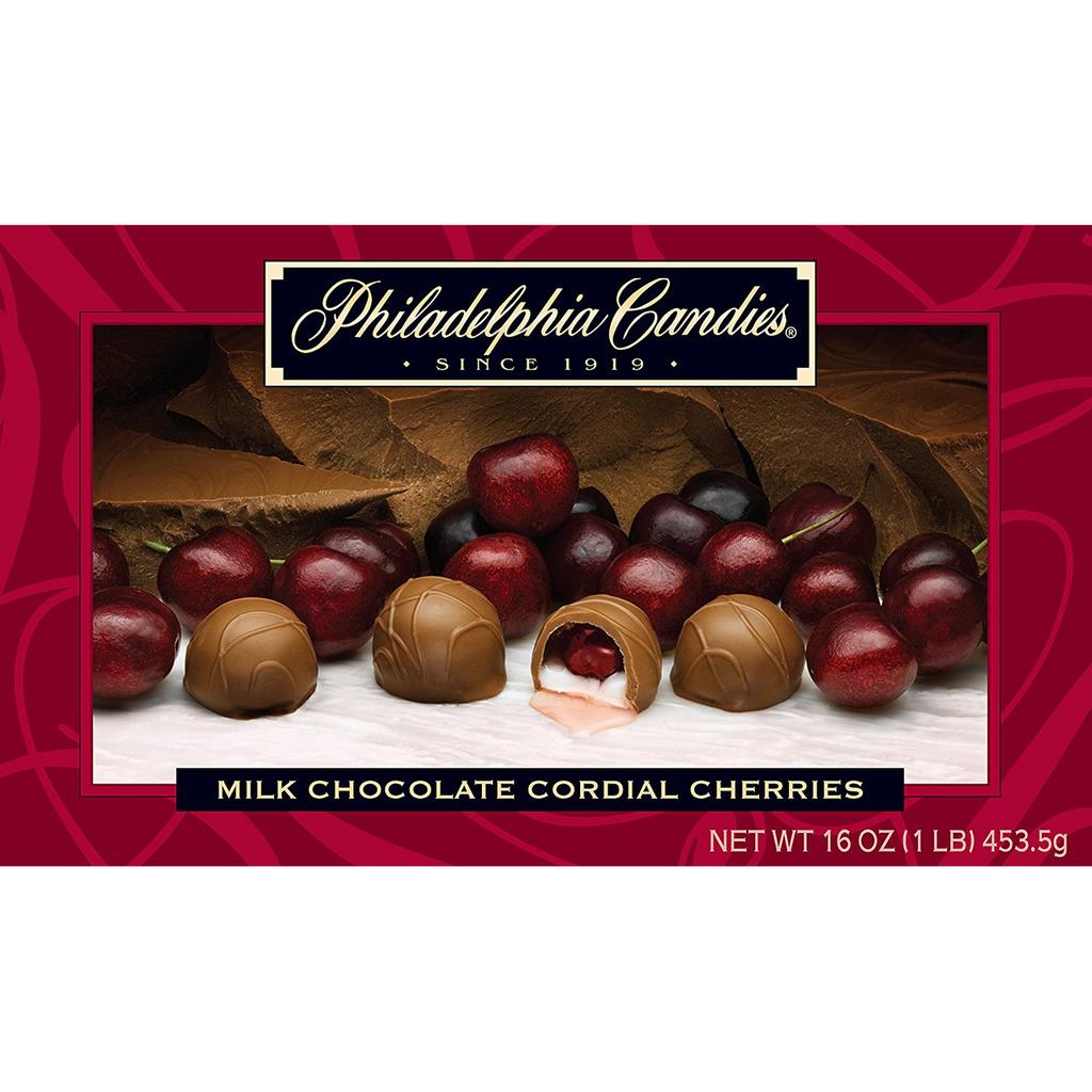 Cordial Cherries, Milk Chocolate
