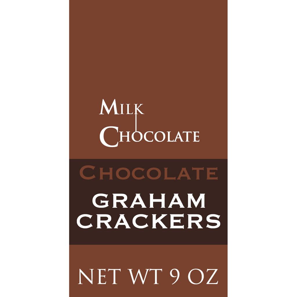 Chocolate Graham Crackers, Milk Chocolate