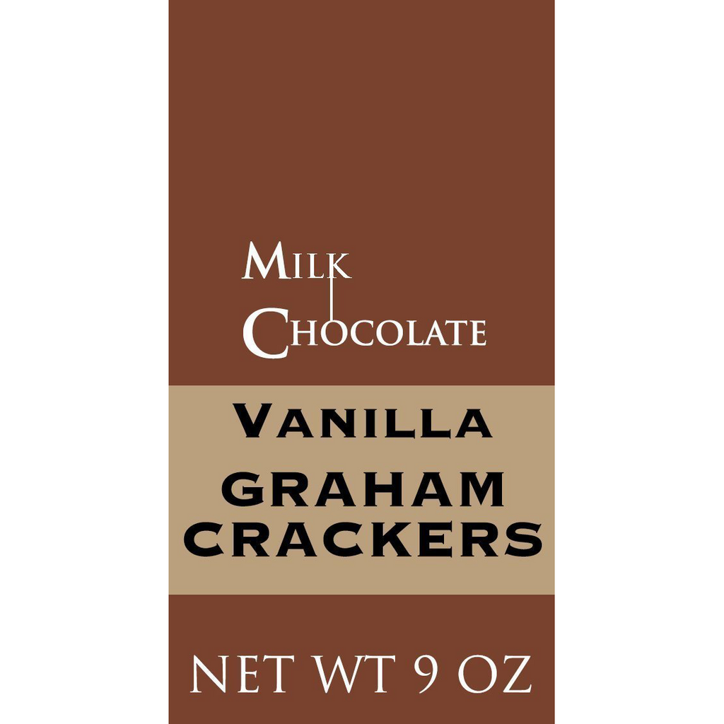 Vanilla Graham Crackers, Milk Chocolate