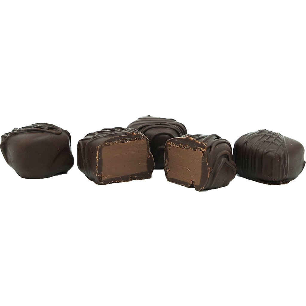 Butter Pecan Meltaway Truffles, Dark Chocolate
