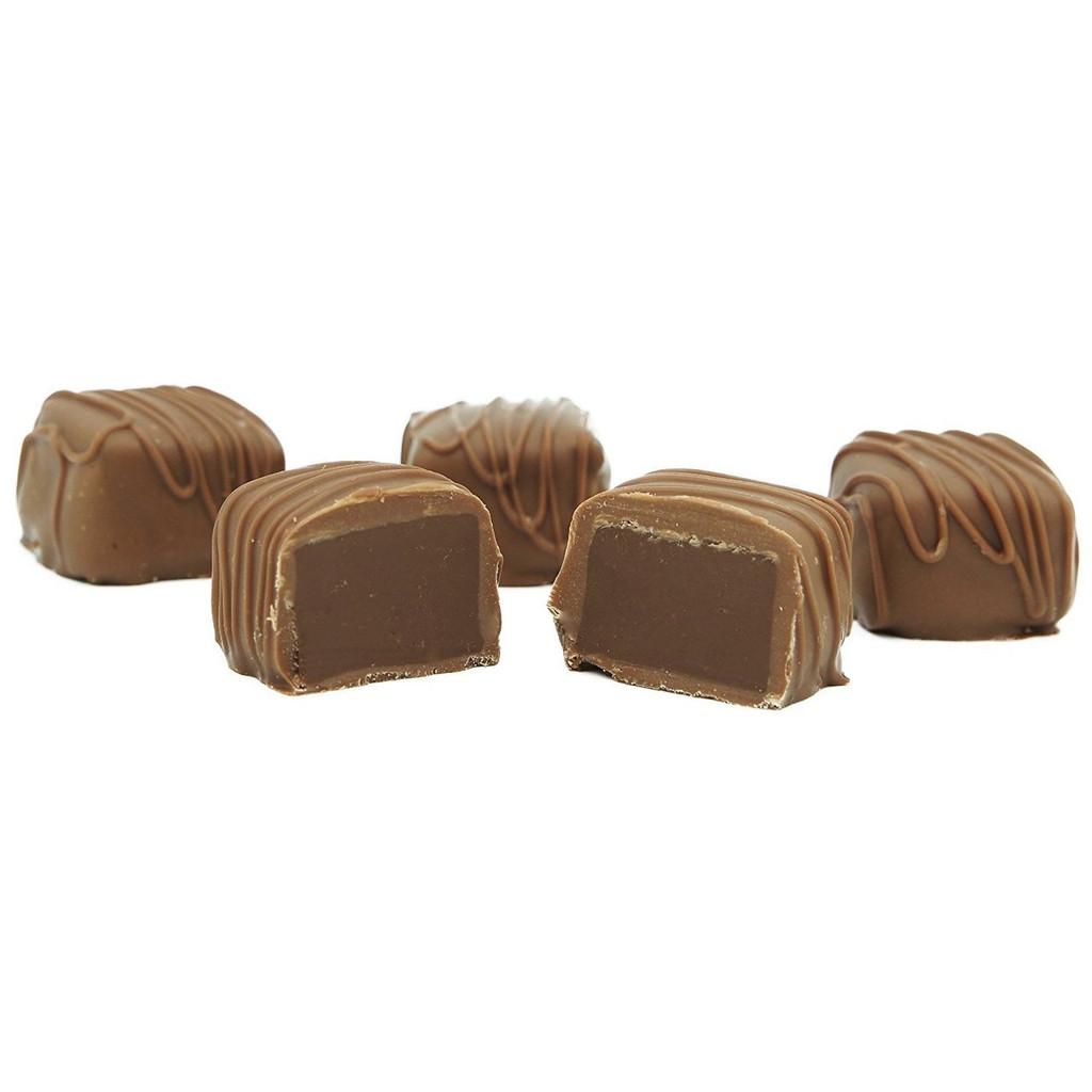 Pumpkin Meltaway Truffles, Milk Chocolate