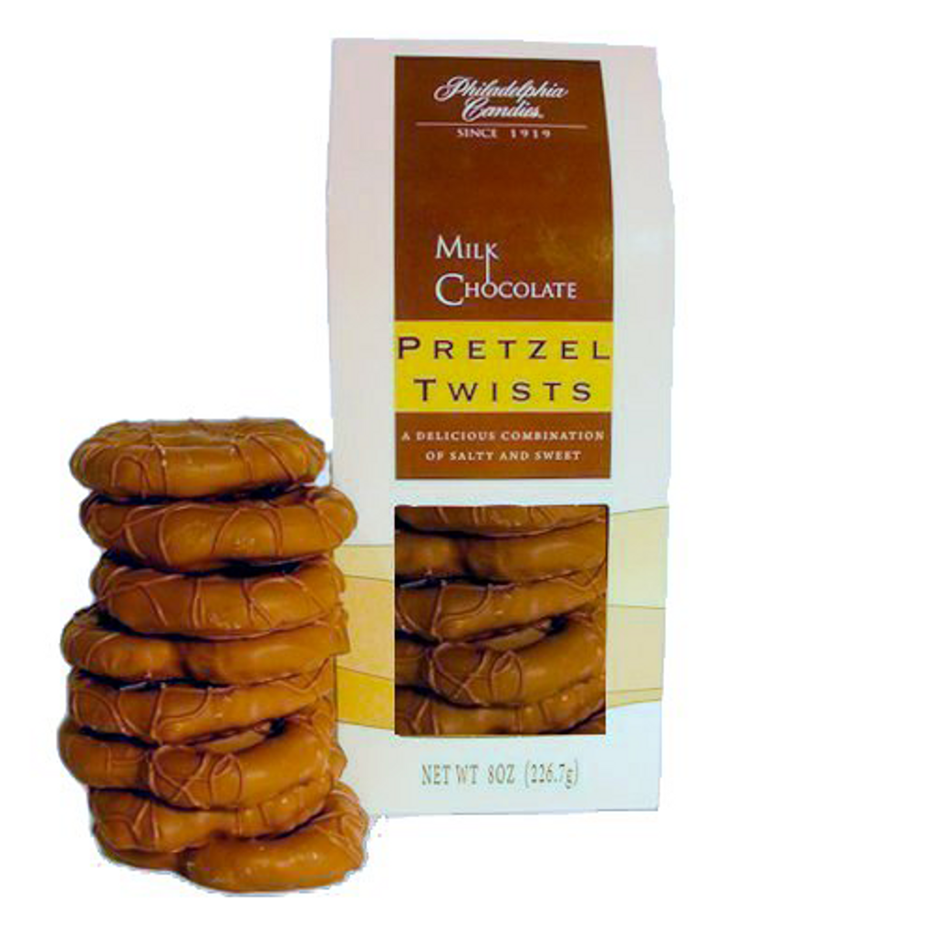 Original Pretzel Twists, Milk Chocolate