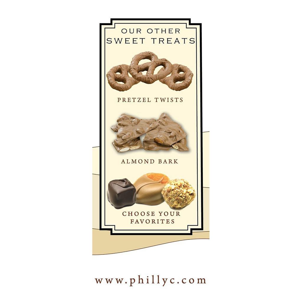 Original Pretzel Twists, Milk Chocolate