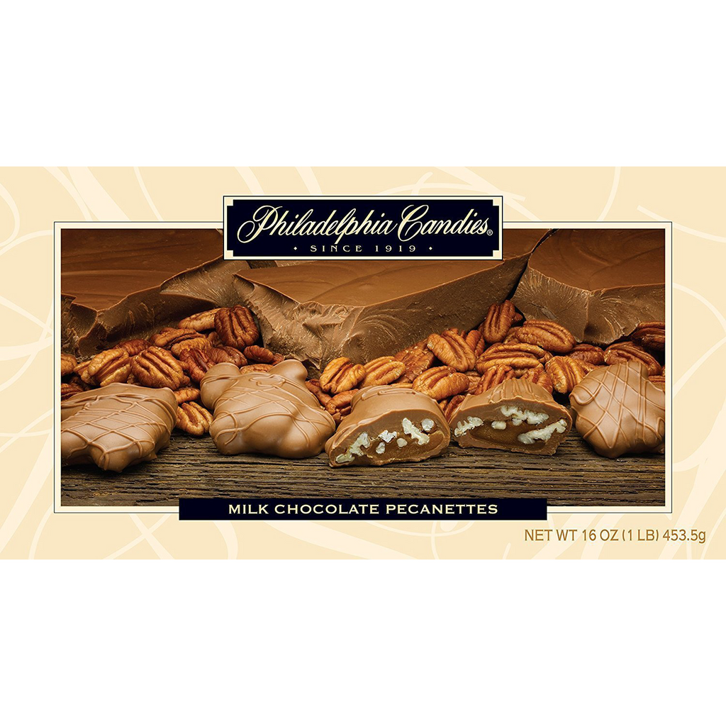 Original Pecanettes (Caramel Nut Clusters), Milk Chocolate