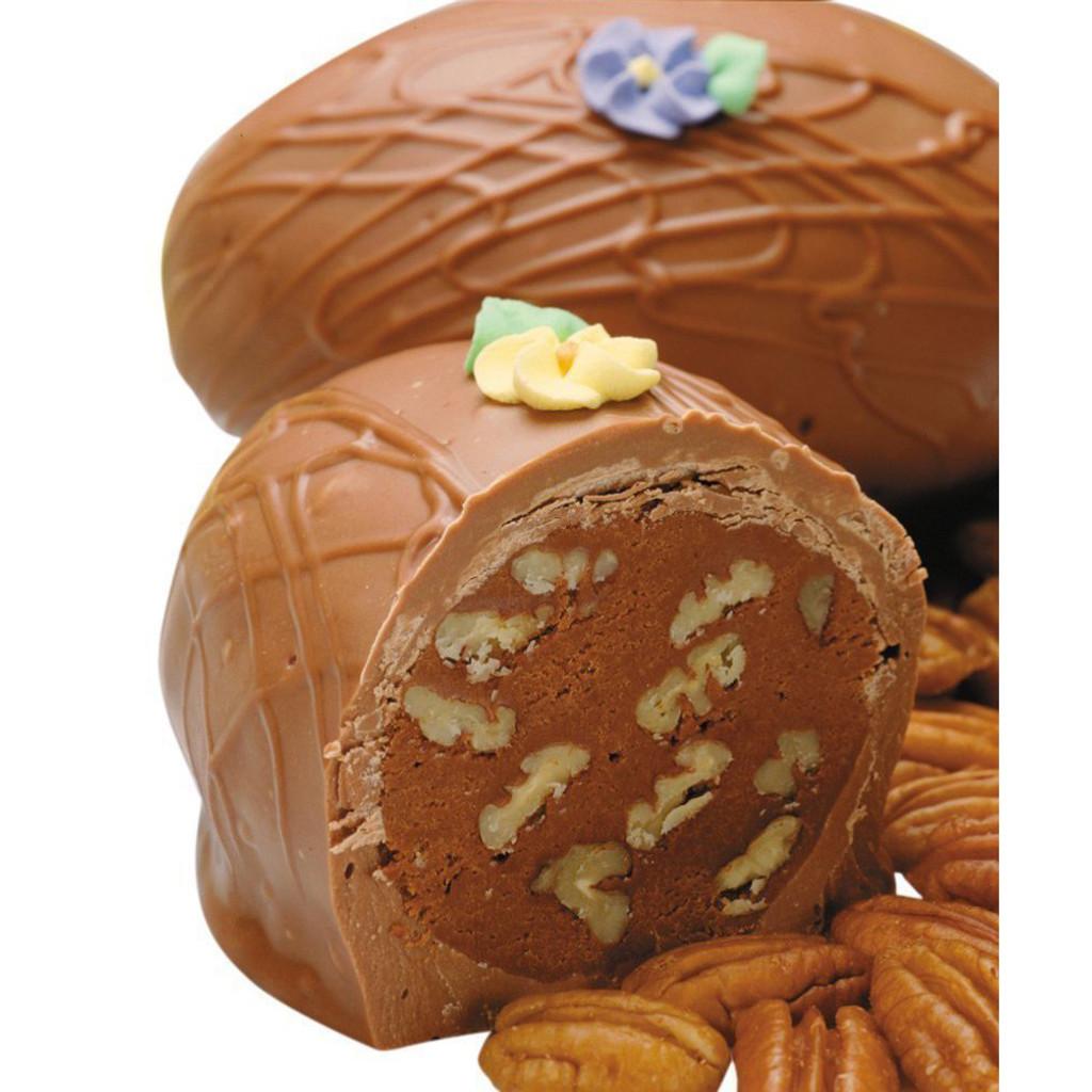 Fudge Pecan Nut Egg, Milk Chocolate