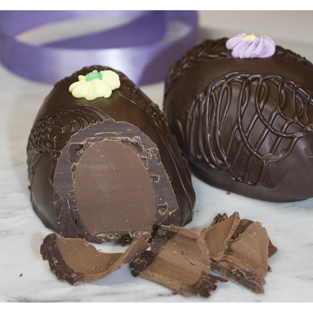 Raspberry Meltaway Egg, Dark Chocolate