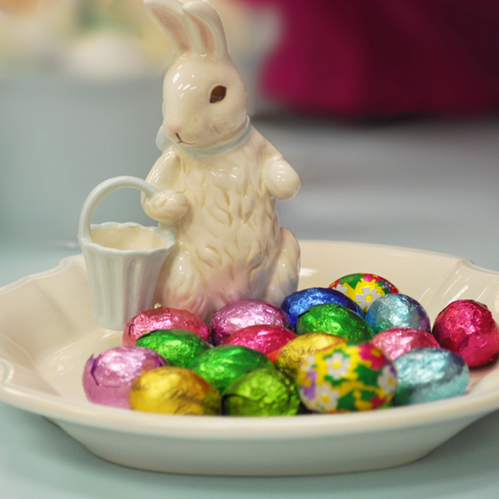 Foil Eggs, Milk Chocolate