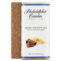 Milk Chocolate with Crisped Rice Bar, 3.25 Ounce