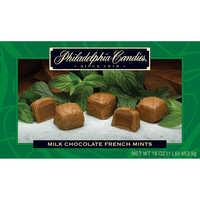 French Mint Meltaway Truffles, Milk Chocolate