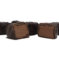 French Mint Meltaway Truffles, Dark Chocolate