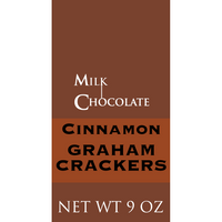 Cinnamon Graham Crackers, Milk Chocolate