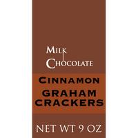 Cinnamon Graham Crackers, Milk Chocolate