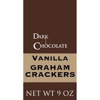 Vanilla Graham Crackers, Dark Chocolate