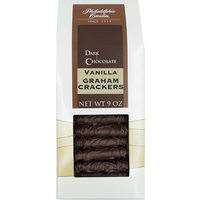 Vanilla Graham Crackers, Dark Chocolate
