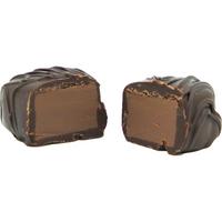 Banana Meltaway Truffles, Dark Chocolate