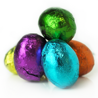 Foil Eggs, Dark Chocolate
